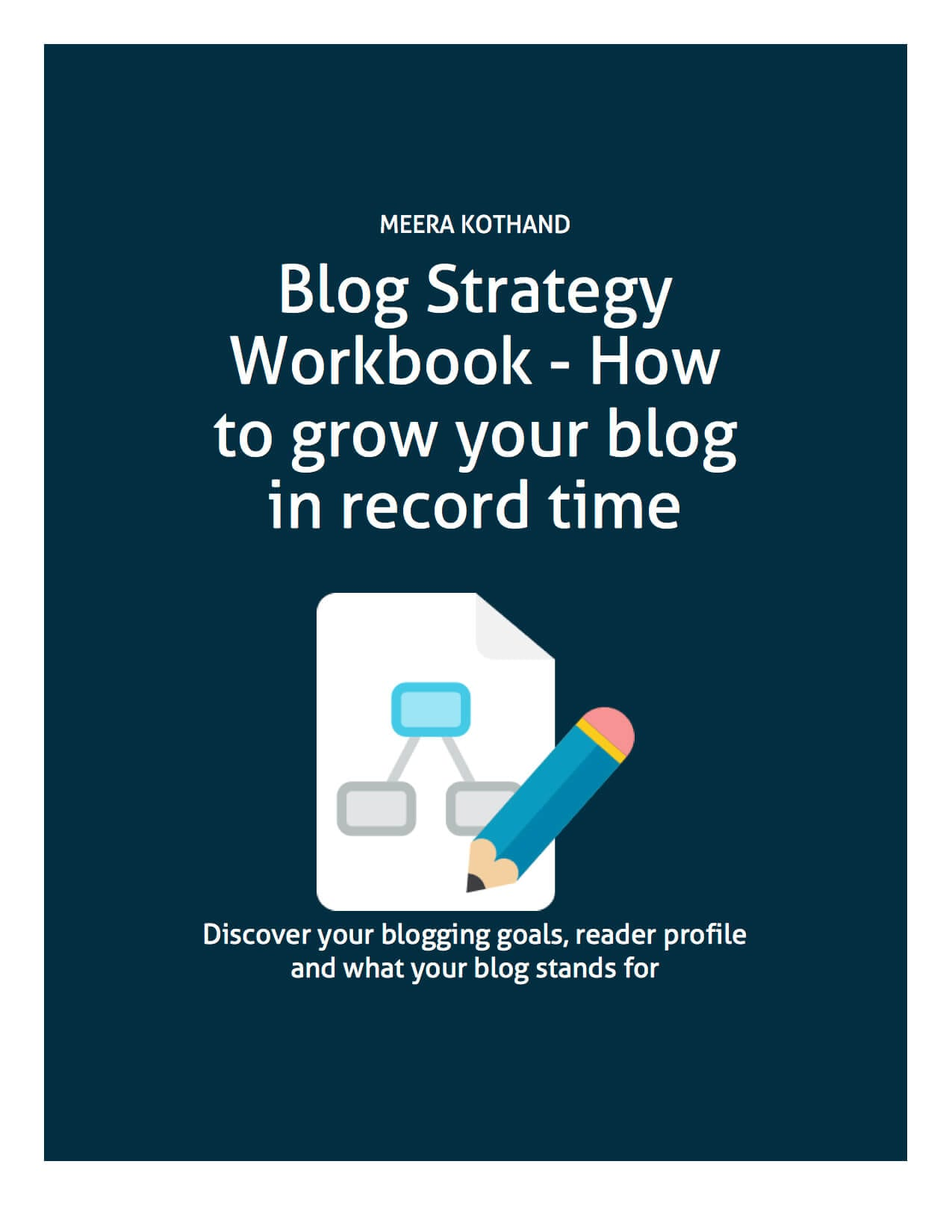 Blog Strategy Workbook - How to grow your blog in record time