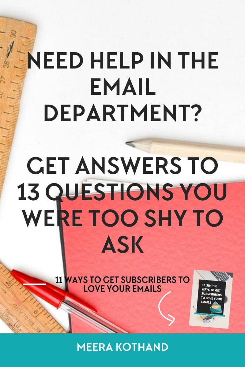 email-list-questions-and-tips